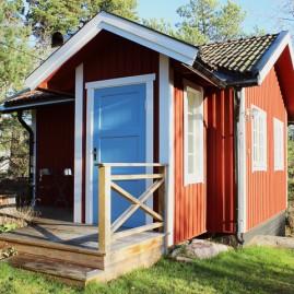 Fasadmålning i Saltsjö-boo