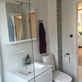 Badrumsrenovering i Åkersberga